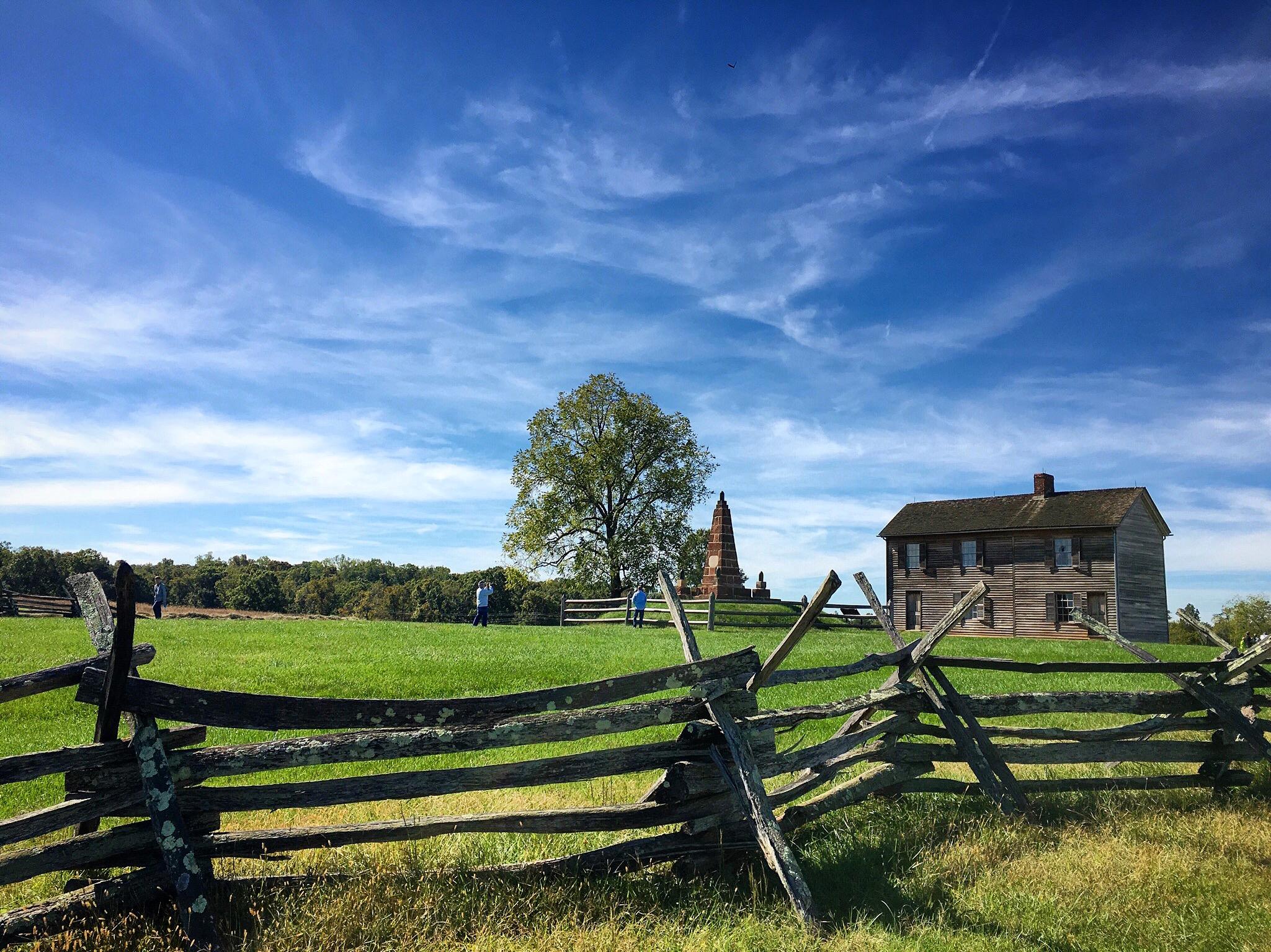 Hill house,Manassas Battlefield.