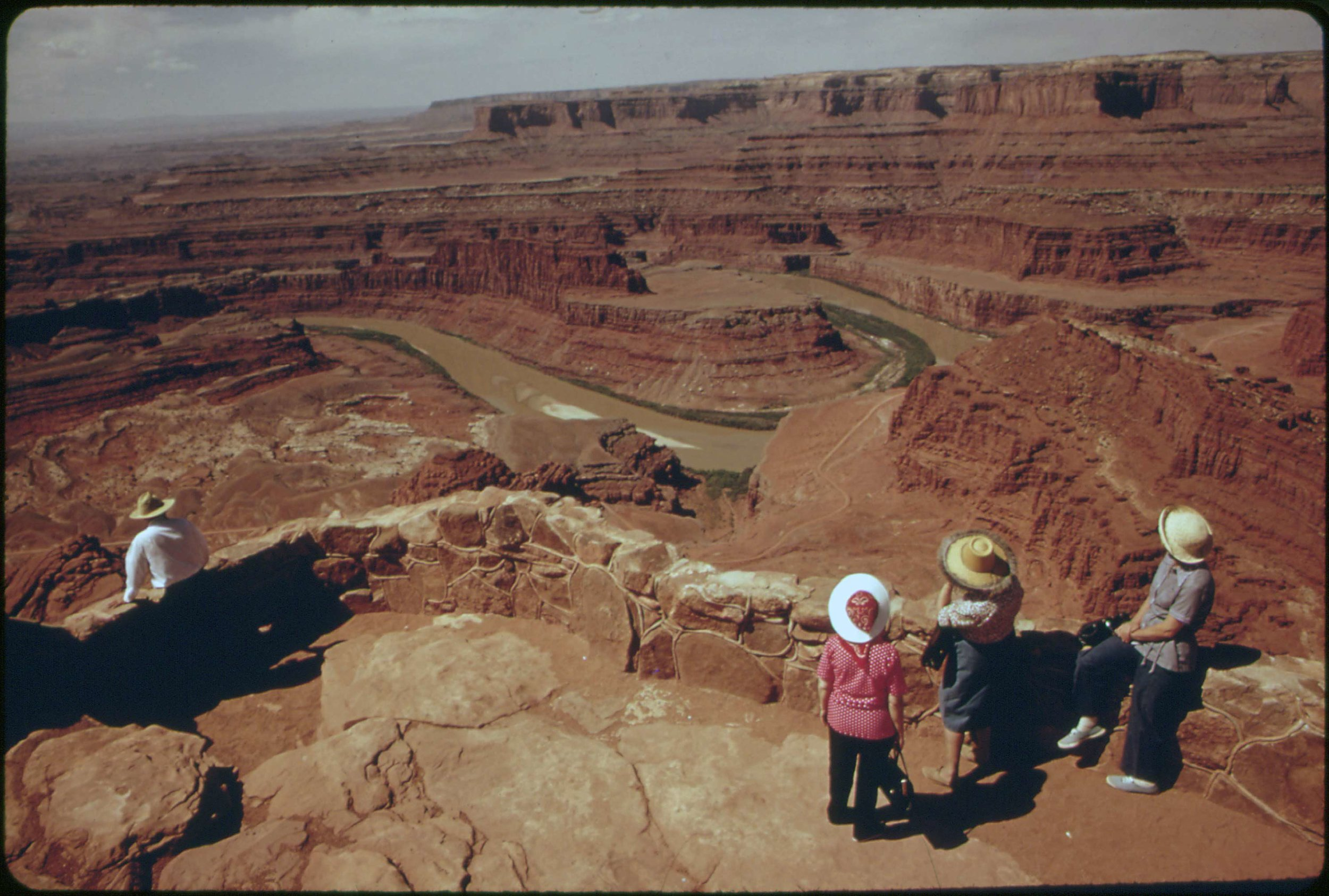 Dead Horse Point State Park, photo from the National Archives.