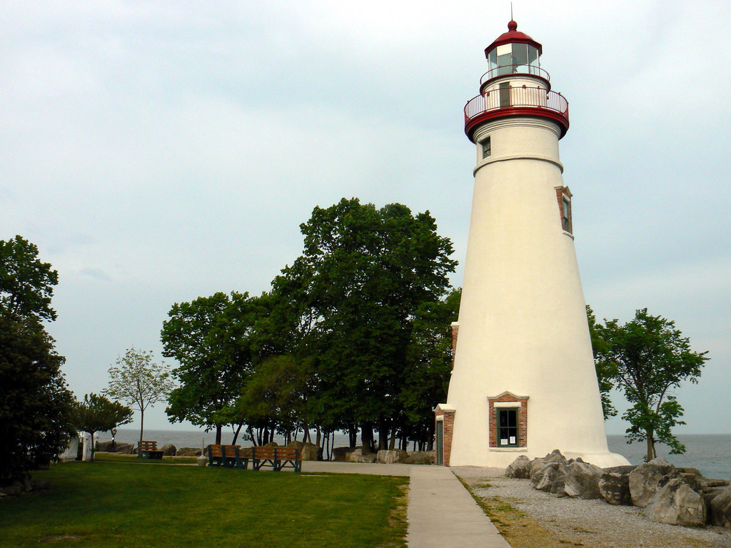 Marblehead Lighthouse, Marblehead, Ohio.