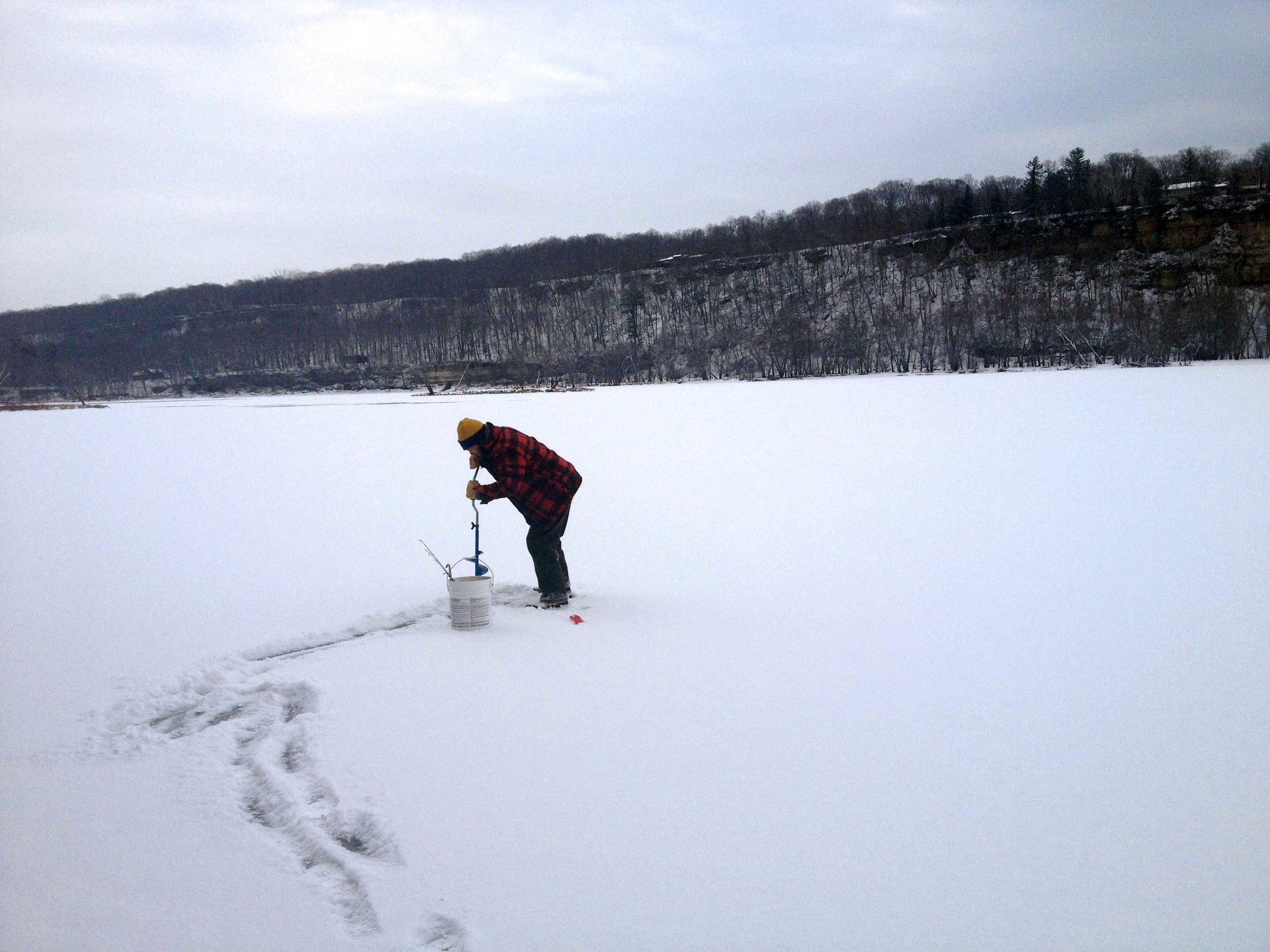 Winter Lake Erie, New York