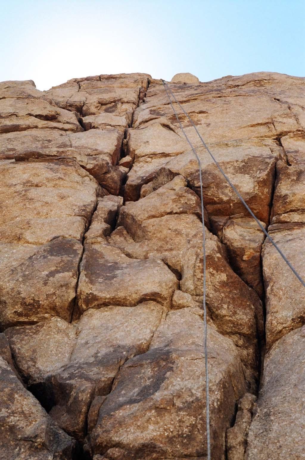 "Upward view,""Cliffs of Insanity."" Photo by Jennifer Ciminillo."