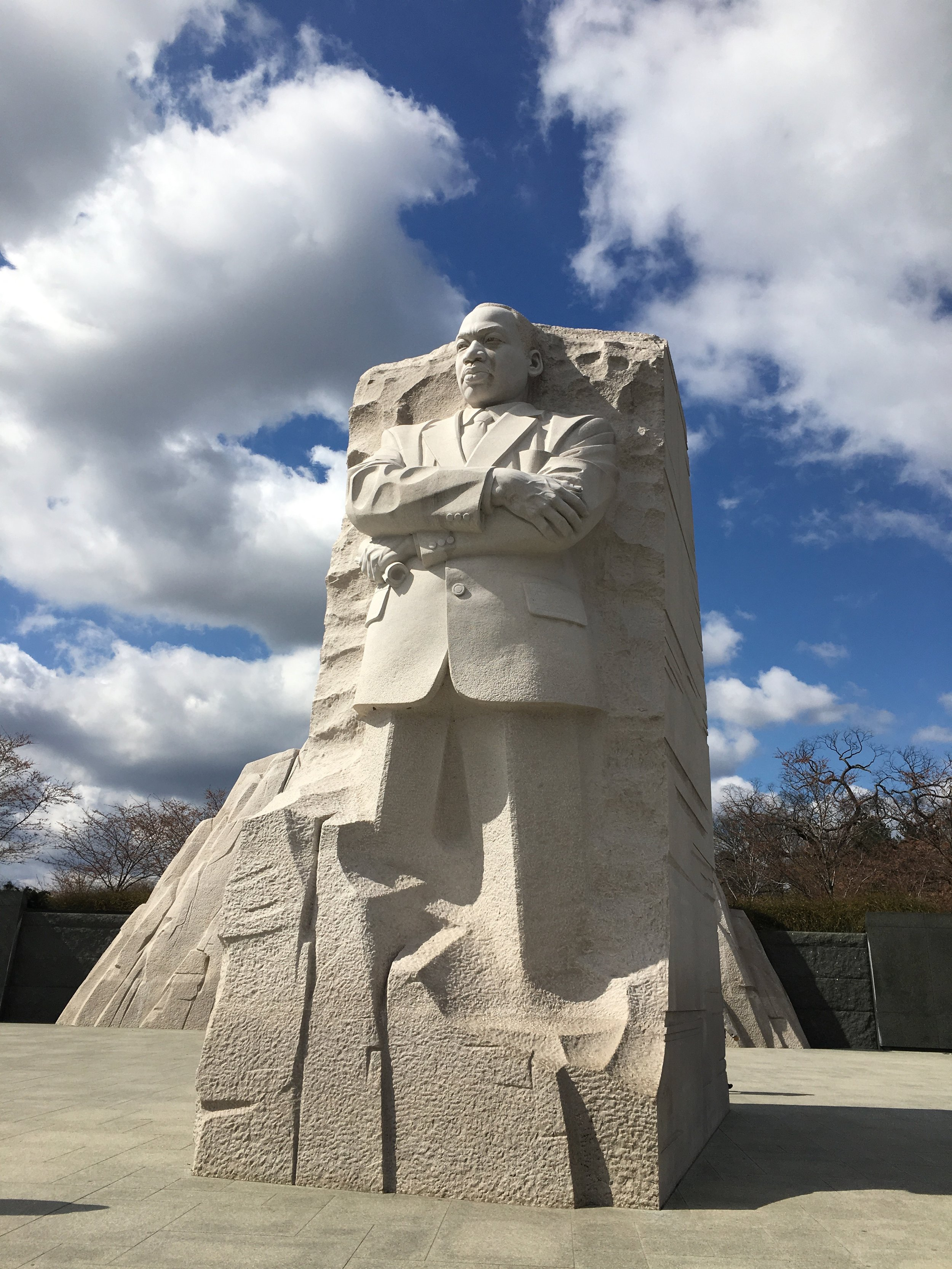 Martin Luther King, Jr. Memorial, photo by Amy Beth Wright.