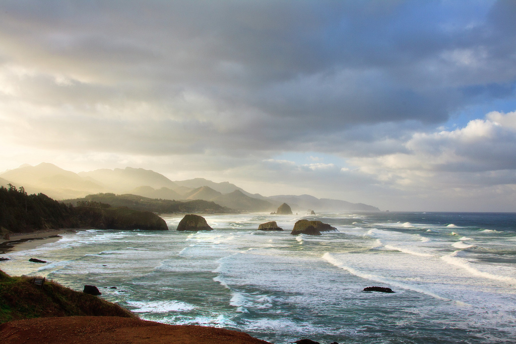 Ecola State Park,  photo  by Adrian Mills / CC 2.0