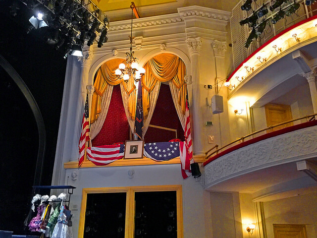 The Presidential Box, photo by  Ron Cogswell / CC BY.