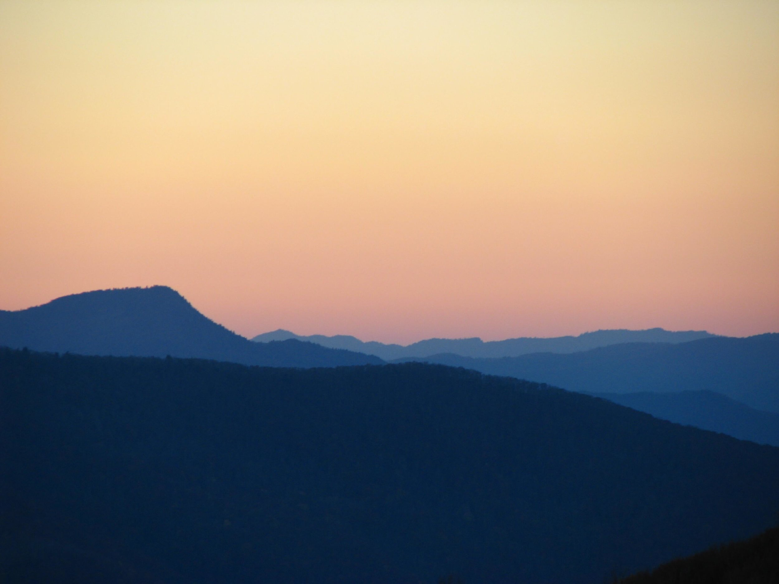 Sunset in North Carolina, photo courtesy Lauren Smith.