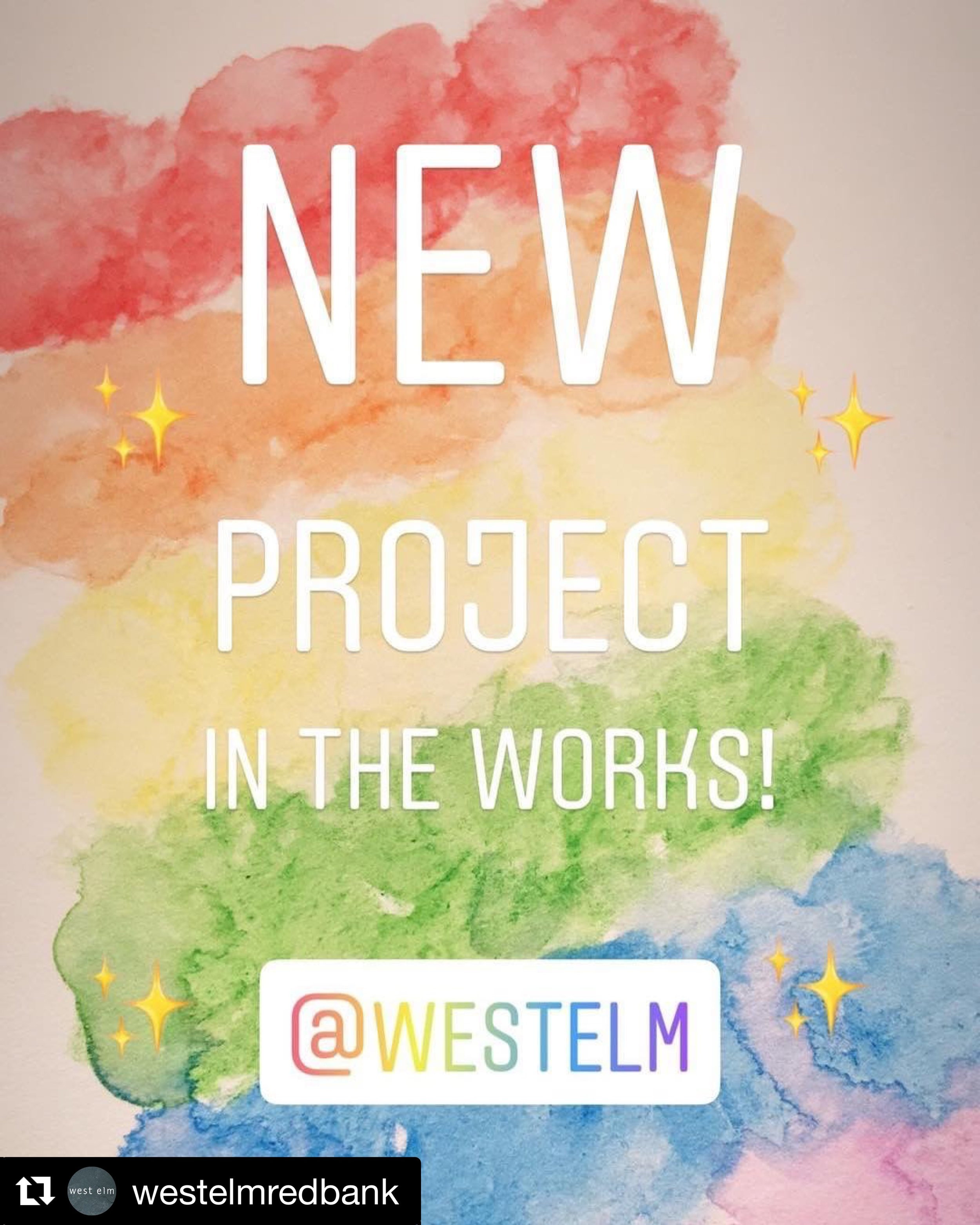 westelmredbank: 🚨COLLABORATION ALERT🚨 @cristinkellydesign is bringing her famous flower 🌸 walls to West Elm! Celebrating Pride Month is something very special here!