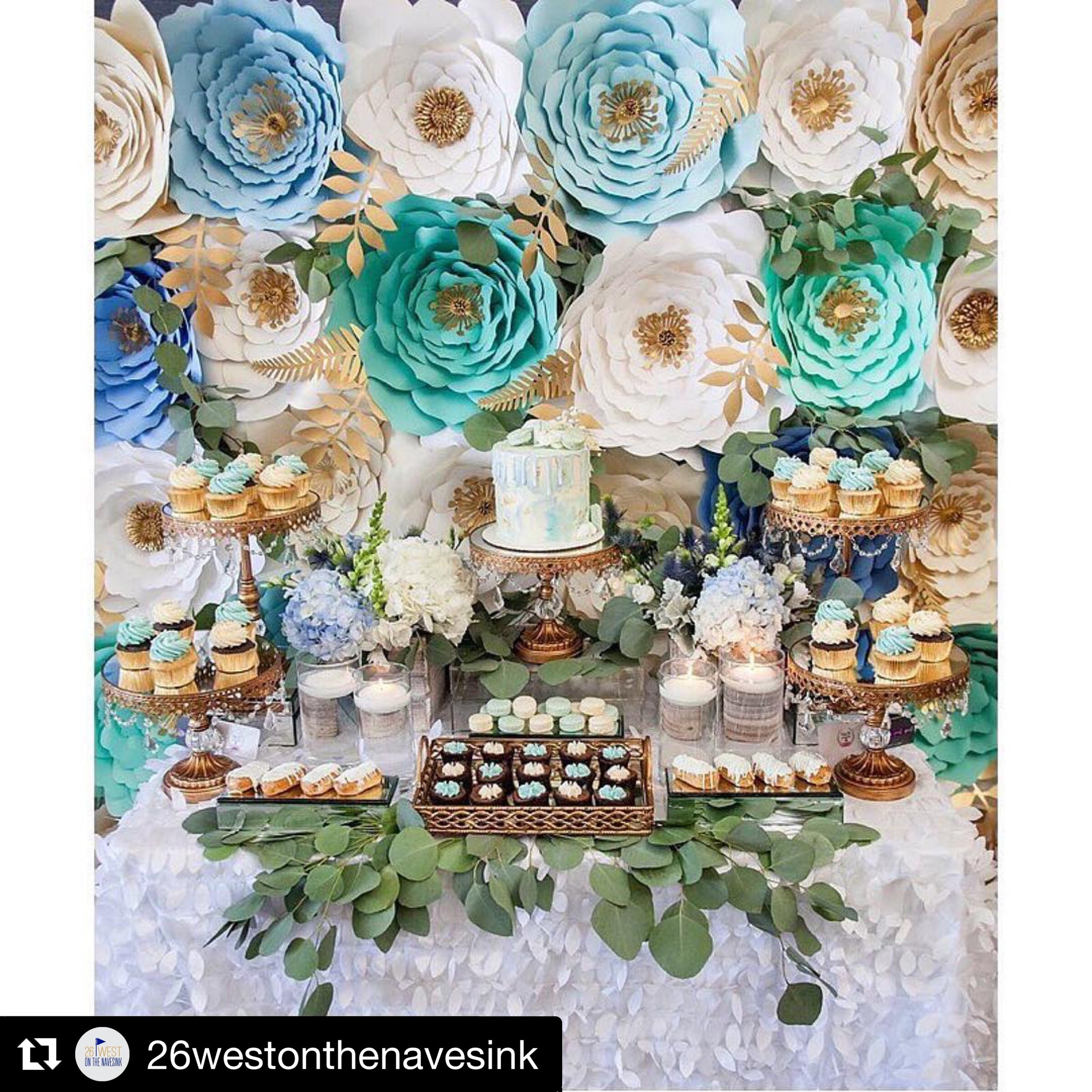 26westonthenavesink: Events at 26 West on the Navesink are so gorgeous thanks to @cristinkellydesign ・・・ Such gorgeous colors! ✨🌿 #ladiesluncheon #paperflowerwall #sweetlife #cristinkellydesign