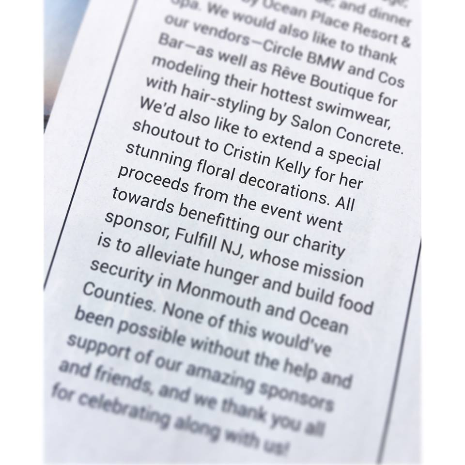 Thank you to #vuemagazine for the shoutout!! 🙌🏻 Be sure to check out their latest summer issue! On stands now! ✨ #cristinkellydesign #vuenj