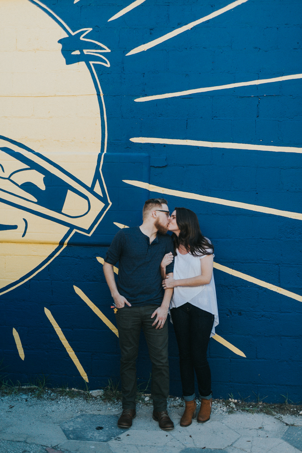 St Pete Murals Engagement Session Daddy Kool Hyppo -20.jpg