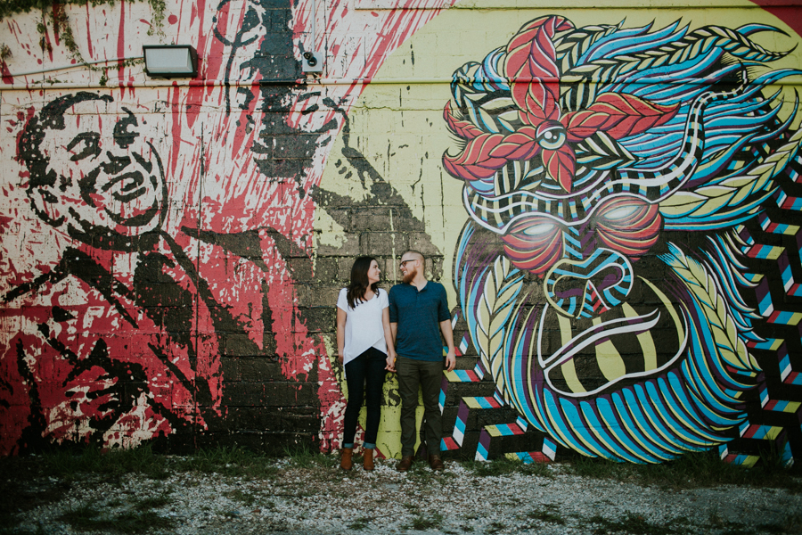 St Pete Murals Engagement Session Daddy Kool Hyppo -27.jpg