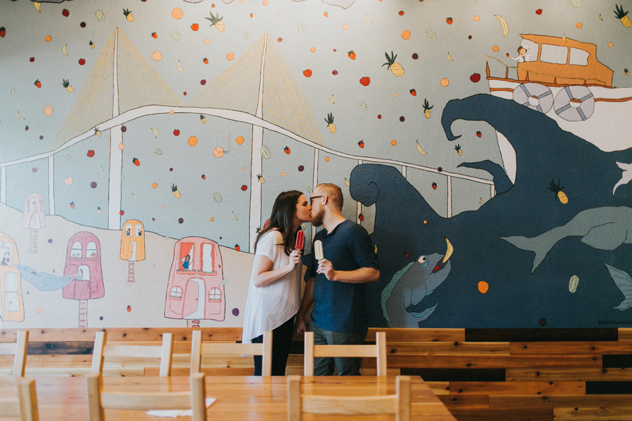 St Pete Murals Engagement Session Daddy Kool Hyppo -40.jpg