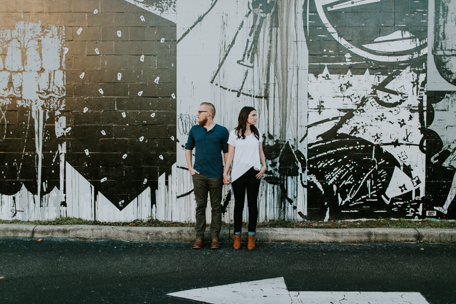 St Pete Murals Engagement Session Daddy Kool Hyppo -48.jpg