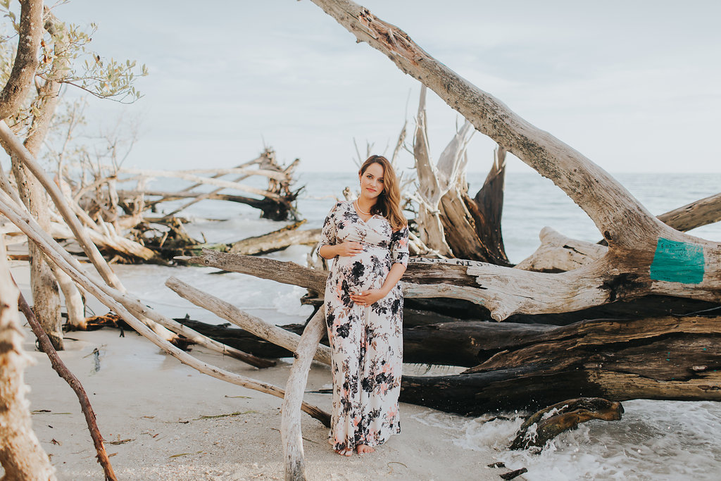 longboat key floral maternity session at beer can island moody_13.jpg