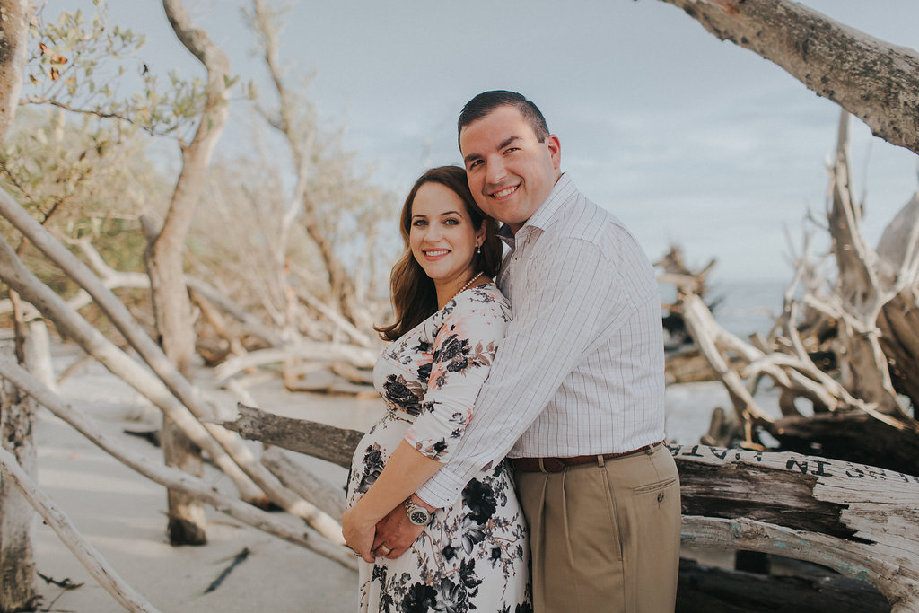 longboat key floral maternity session at beer can island moody_15.jpg