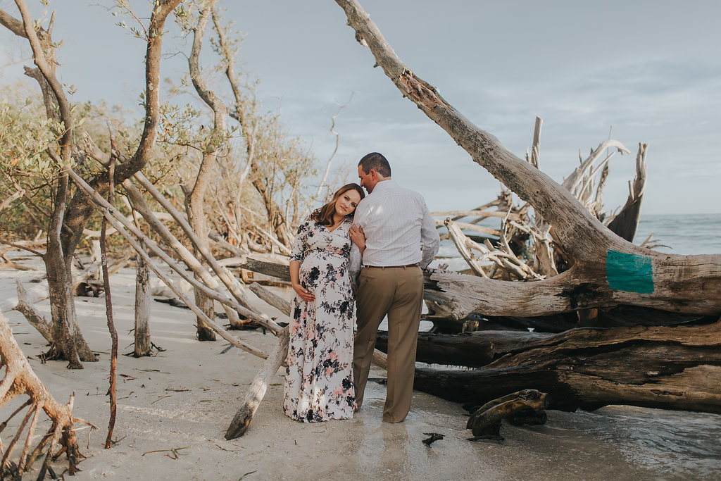 longboat key floral maternity session at beer can island moody_18.jpg