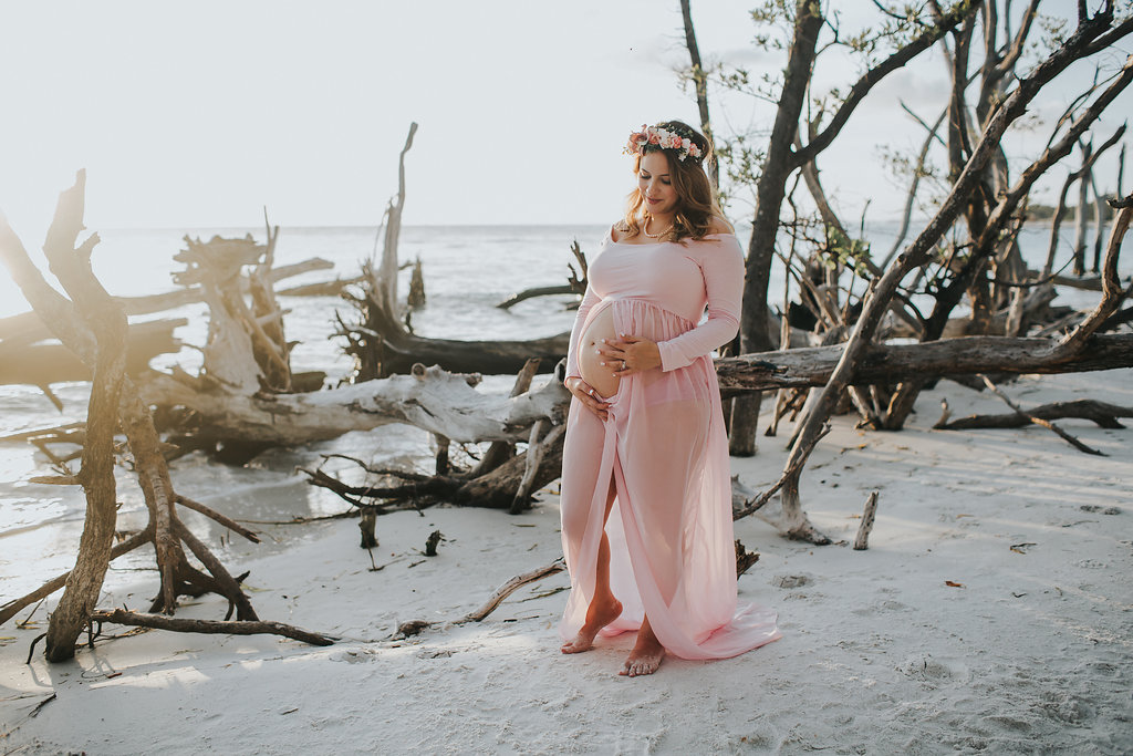 longboat key floral maternity session at beer can island moody_24.jpg