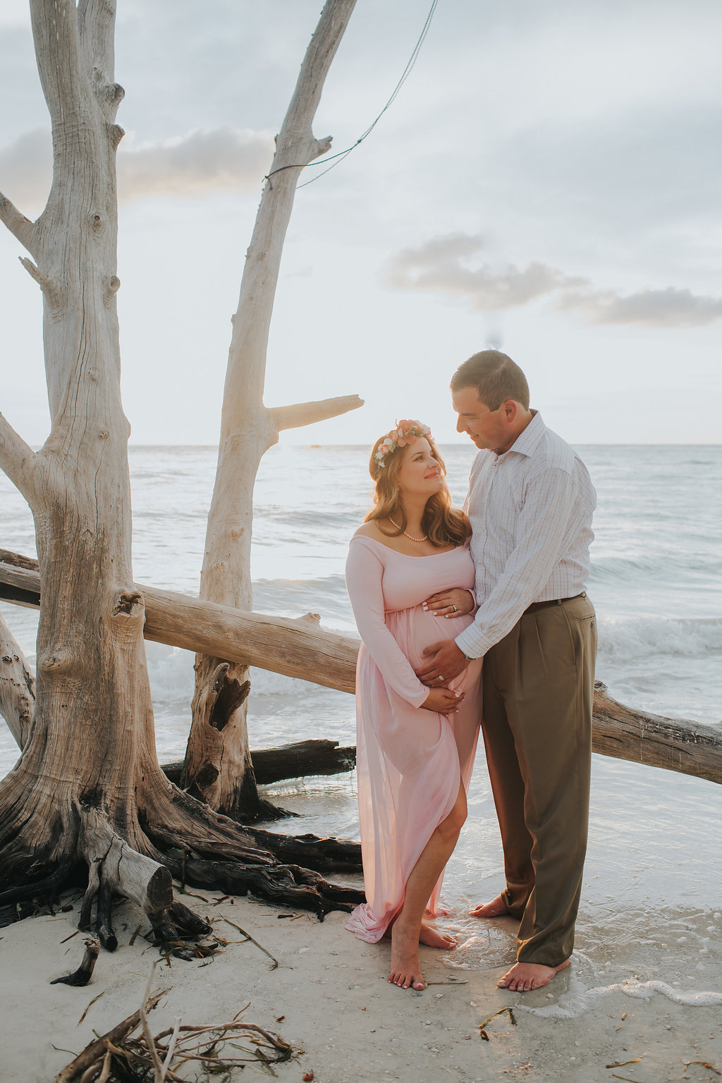 longboat key floral maternity session at beer can island moody_27.jpg