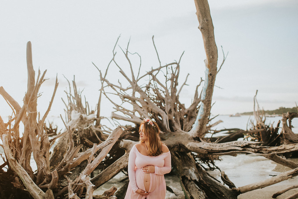 longboat key floral maternity session at beer can island moody_30.jpg