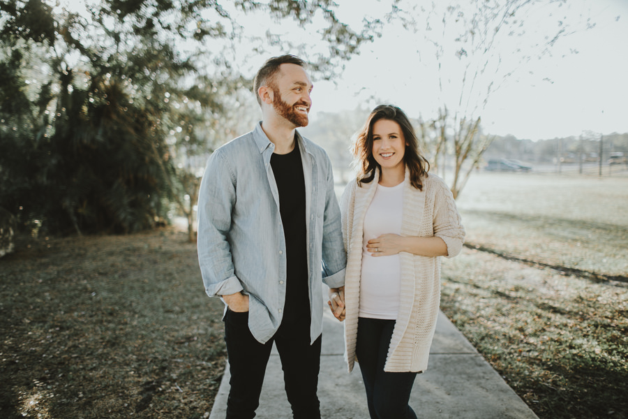 Seminole Tampa Heights Maternity session Locale Church -2.jpg