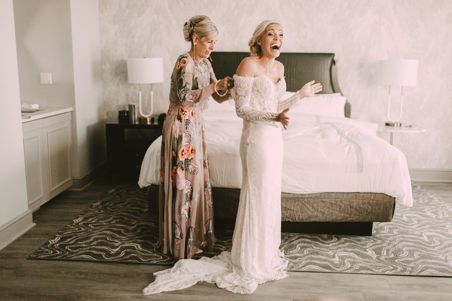 Neely rose gold boho wedding in st pete vinoy A and be Miami first baptist of st pete park shore grill Tampa Wedding Photographer -35.jpg