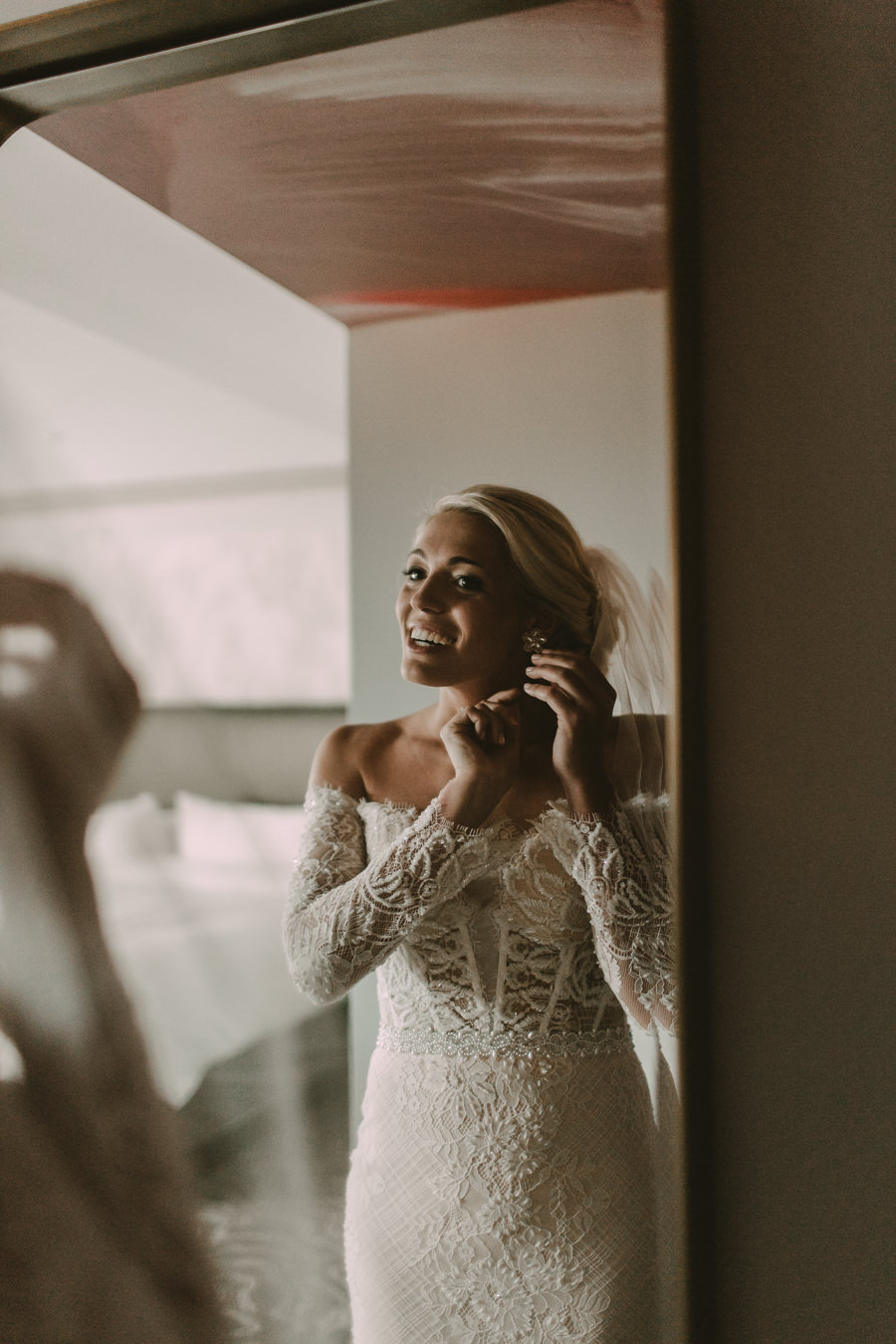 Neely rose gold boho wedding in st pete vinoy A and be Miami first baptist of st pete park shore grill Tampa Wedding Photographer -41.jpg