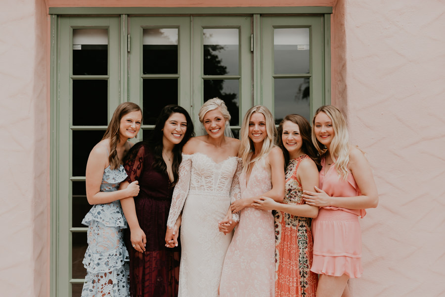 Neely rose gold boho wedding in st pete vinoy A and be Miami first baptist of st pete park shore grill Tampa Wedding Photographer -50.jpg