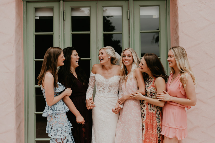 Neely rose gold boho wedding in st pete vinoy A and be Miami first baptist of st pete park shore grill Tampa Wedding Photographer -52.jpg