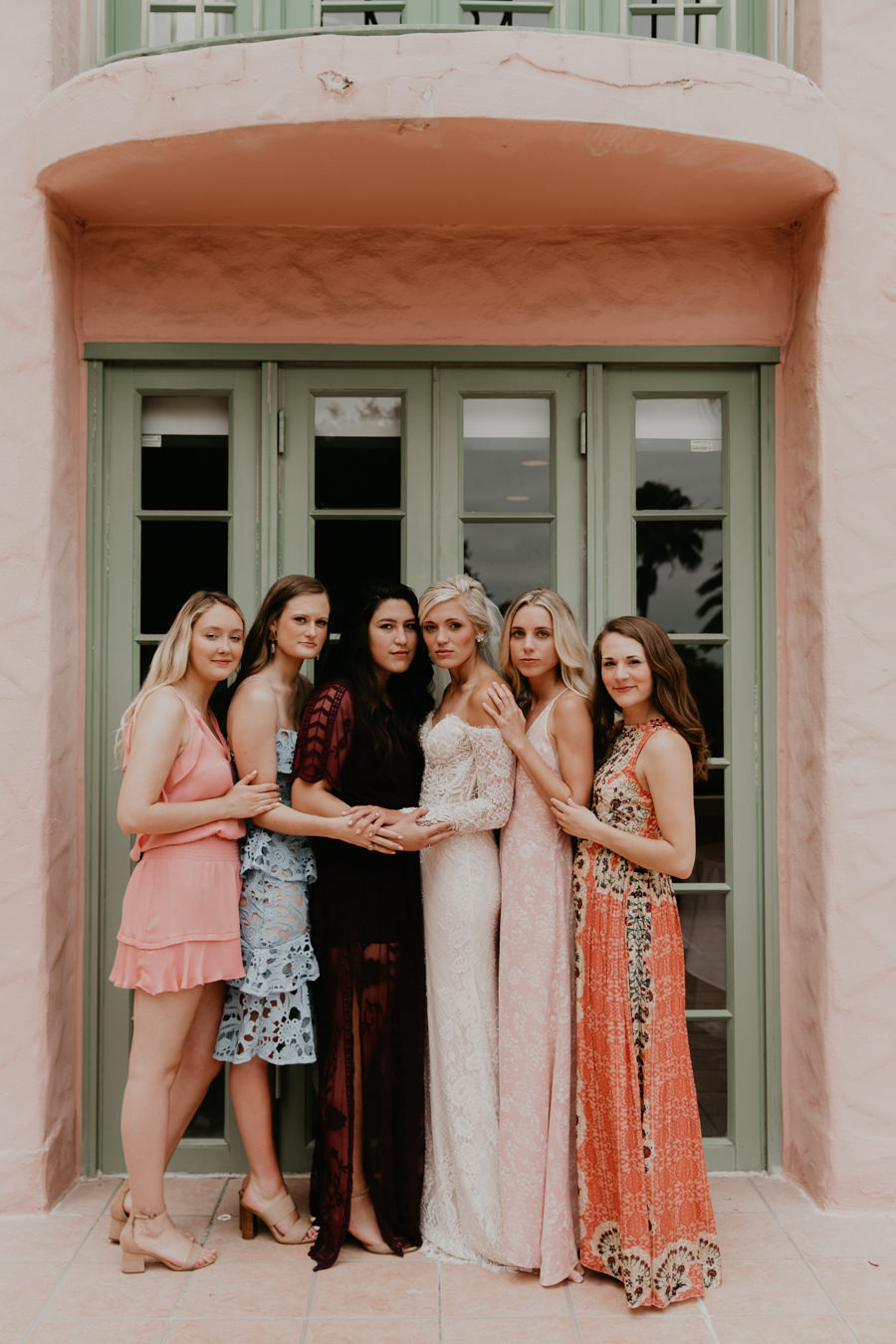 Neely rose gold boho wedding in st pete vinoy A and be Miami first baptist of st pete park shore grill Tampa Wedding Photographer -53.jpg