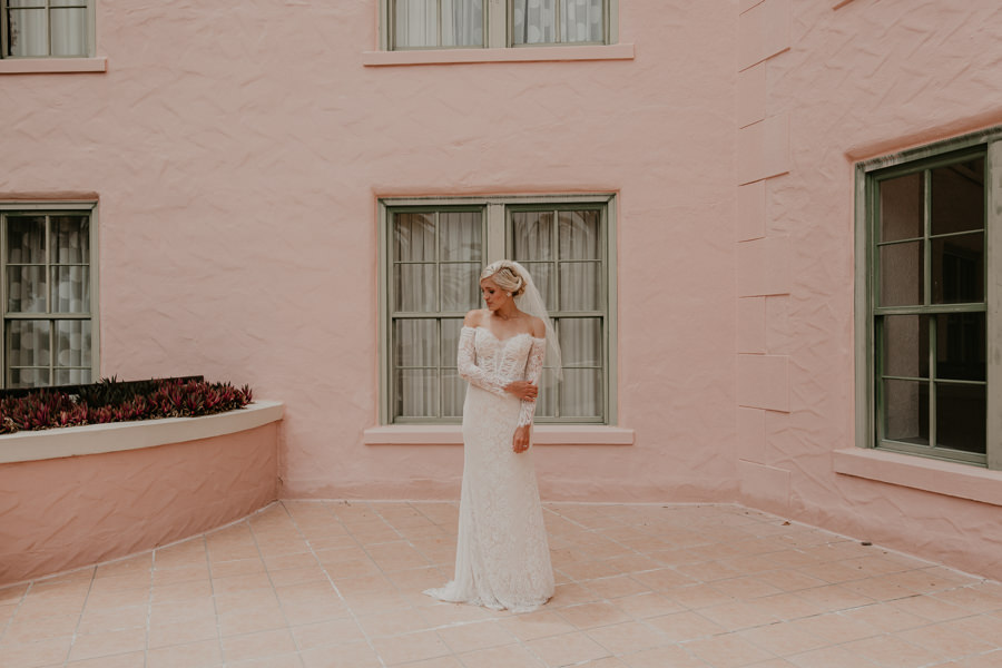Neely rose gold boho wedding in st pete vinoy A and be Miami first baptist of st pete park shore grill Tampa Wedding Photographer -57.jpg