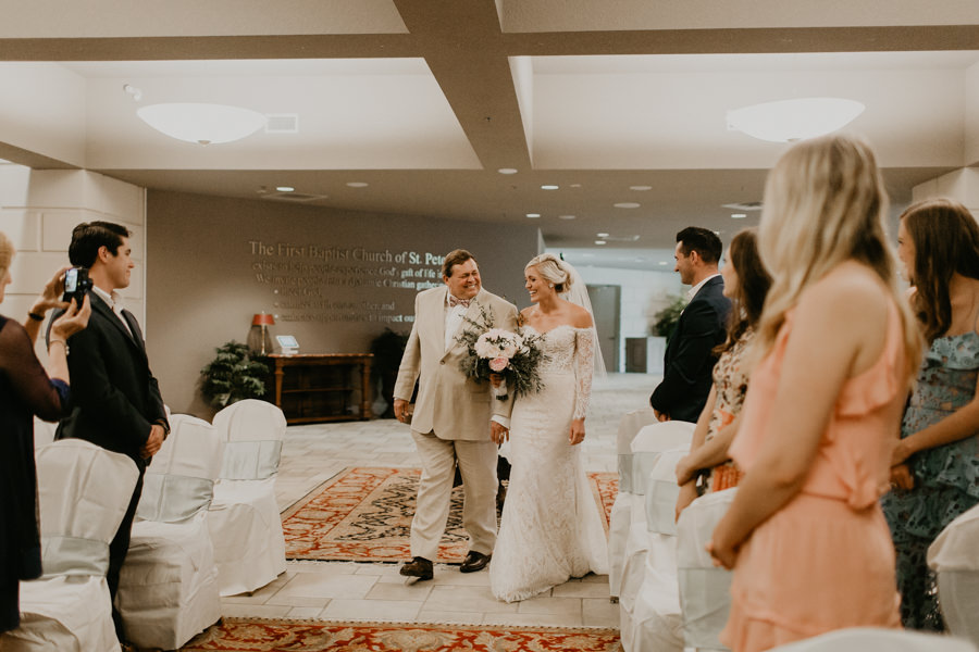 Neely rose gold boho wedding in st pete vinoy A and be Miami first baptist of st pete park shore grill Tampa Wedding Photographer -74.jpg