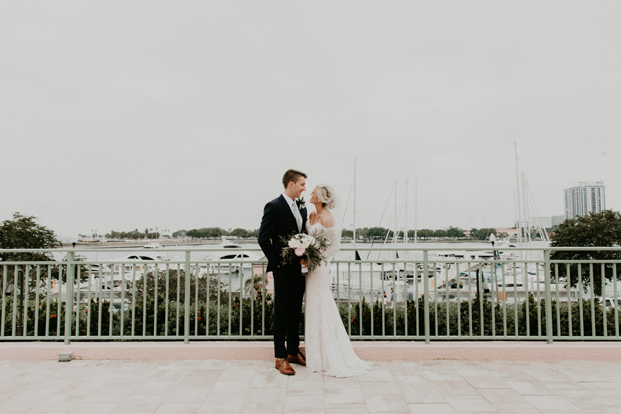 Neely rose gold boho wedding in st pete vinoy A and be Miami first baptist of st pete park shore grill Tampa Wedding Photographer -92.jpg