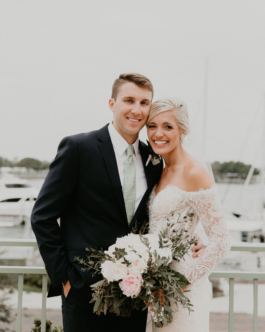 Neely rose gold boho wedding in st pete vinoy A and be Miami first baptist of st pete park shore grill Tampa Wedding Photographer -93.jpg
