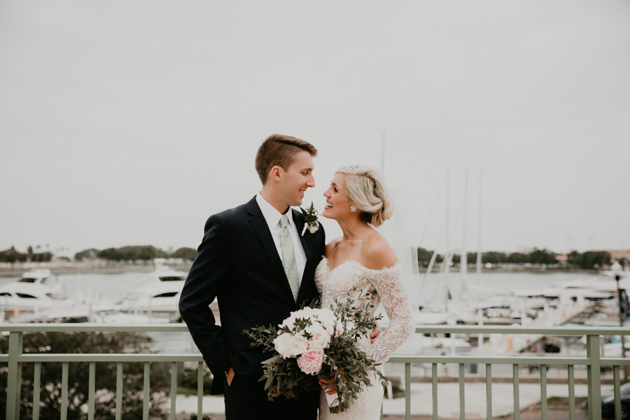 Neely rose gold boho wedding in st pete vinoy A and be Miami first baptist of st pete park shore grill Tampa Wedding Photographer -94.jpg