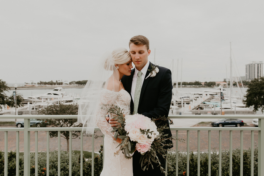 Neely rose gold boho wedding in st pete vinoy A and be Miami first baptist of st pete park shore grill Tampa Wedding Photographer -96.jpg