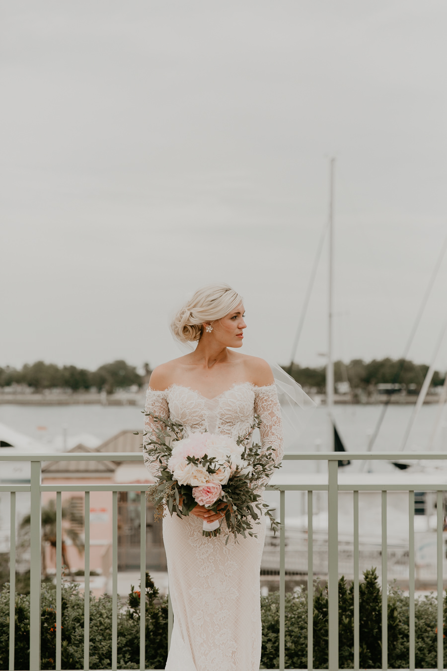 Neely rose gold boho wedding in st pete vinoy A and be Miami first baptist of st pete park shore grill Tampa Wedding Photographer -100.jpg