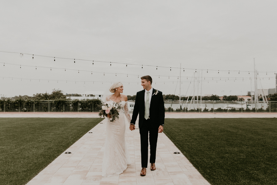 Neely rose gold boho wedding in st pete vinoy A and be Miami first baptist of st pete park shore grill Tampa Wedding Photographer -108.jpg