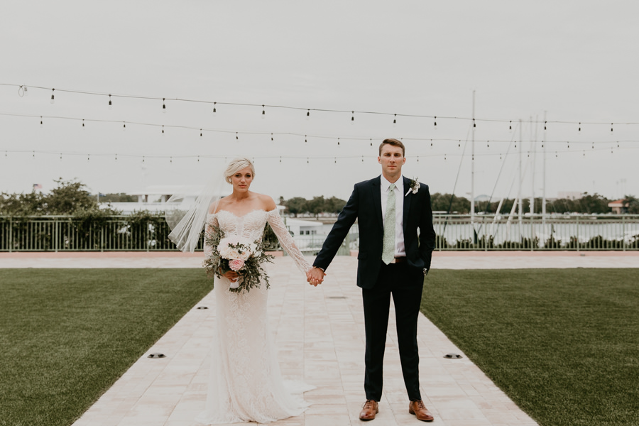Neely rose gold boho wedding in st pete vinoy A and be Miami first baptist of st pete park shore grill Tampa Wedding Photographer -109.jpg
