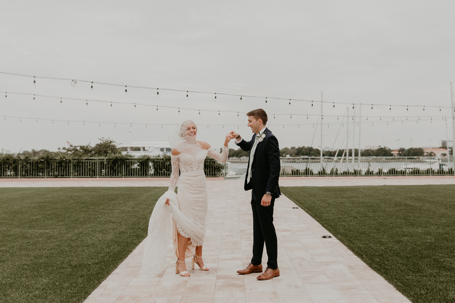 Neely rose gold boho wedding in st pete vinoy A and be Miami first baptist of st pete park shore grill Tampa Wedding Photographer -113.jpg
