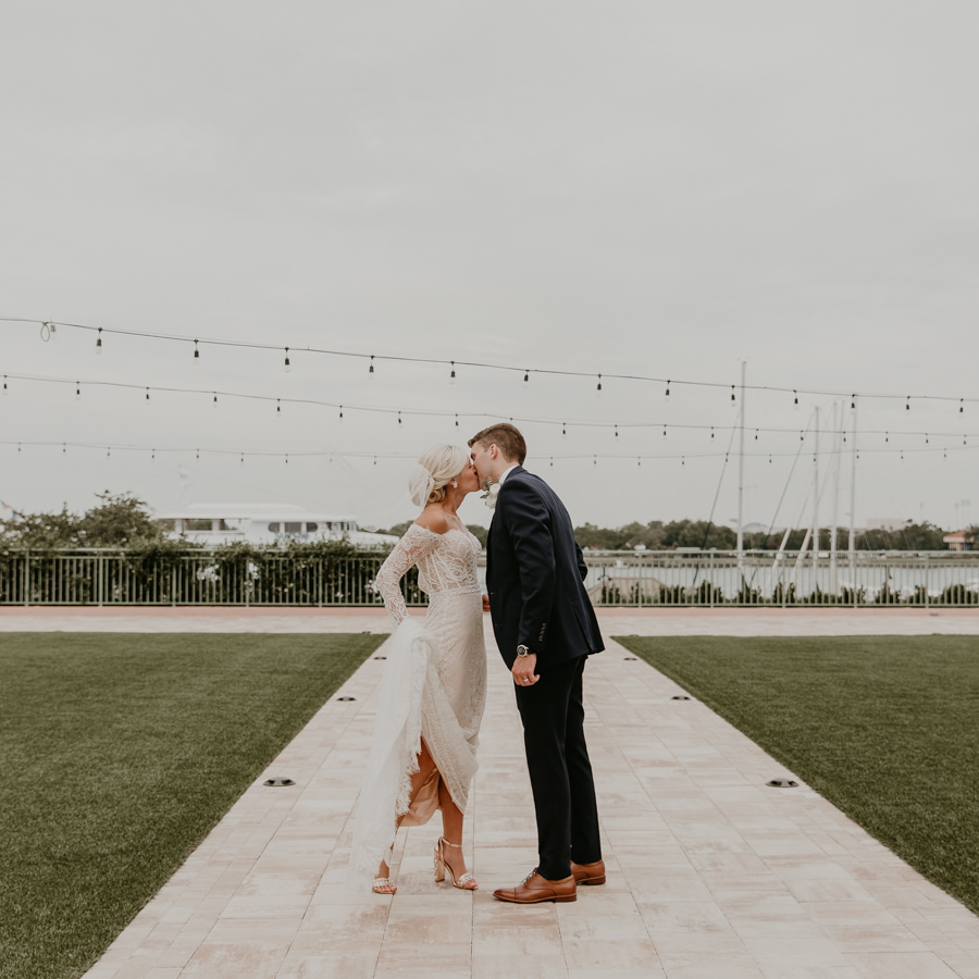 Neely rose gold boho wedding in st pete vinoy A and be Miami first baptist of st pete park shore grill Tampa Wedding Photographer -114.jpg