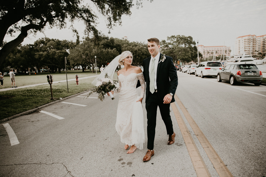 Neely rose gold boho wedding in st pete vinoy A and be Miami first baptist of st pete park shore grill Tampa Wedding Photographer -147.jpg