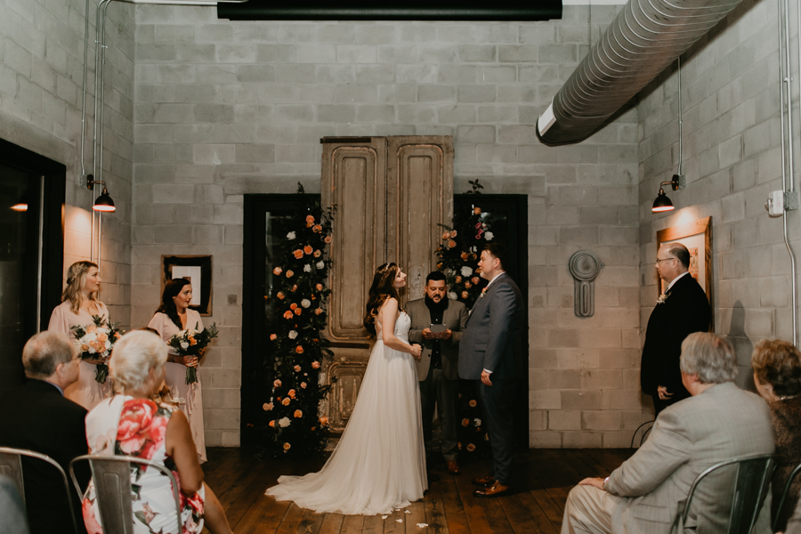 Stephanie And Kent Bailey Tampa Florida Romantic Wedding At Coppertail Brewery in Ybor Florist Fire BHLDN Mis En Place Ibex String Quartet Let Them Eat Cake -40.jpg