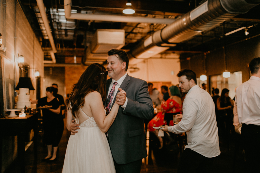 Stephanie And Kent Bailey Tampa Florida Romantic Wedding At Coppertail Brewery in Ybor Florist Fire BHLDN Mis En Place Ibex String Quartet Let Them Eat Cake -118.jpg