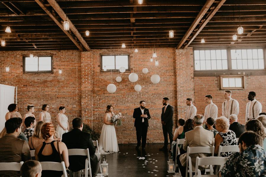 VeronicaandGarrett's Industrial Cavu Tampa Heights Wedding BHLDN gown Salt Block Hospitality Fancy Free Nursery Foundation Coffee-122.jpg