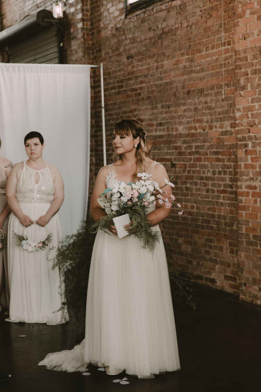 VeronicaandGarrett's Industrial Cavu Tampa Heights Wedding BHLDN gown Salt Block Hospitality Fancy Free Nursery Foundation Coffee-132.jpg