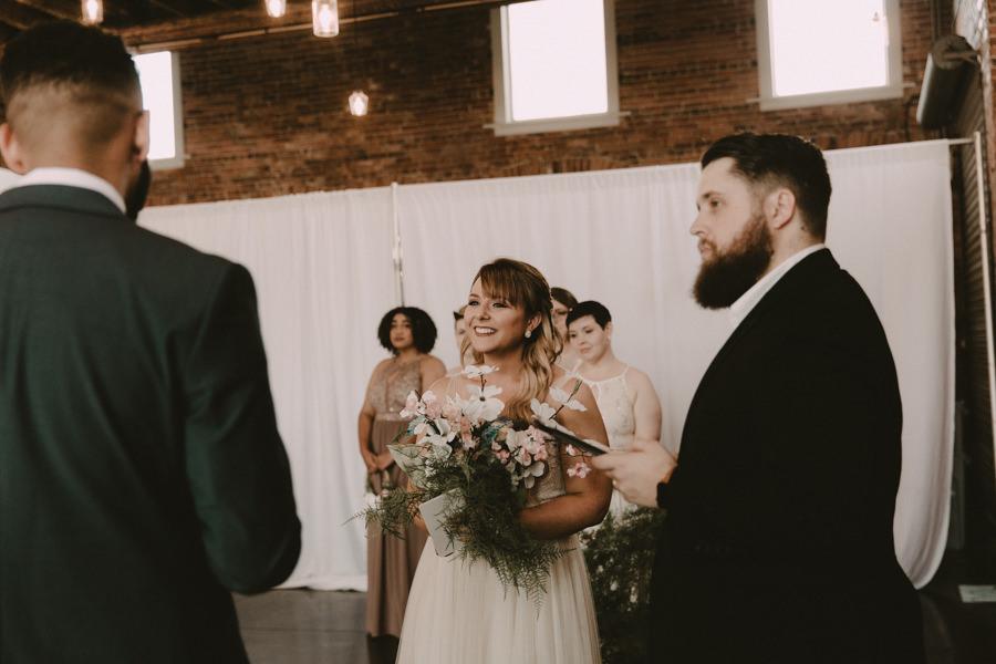 VeronicaandGarrett's Industrial Cavu Tampa Heights Wedding BHLDN gown Salt Block Hospitality Fancy Free Nursery Foundation Coffee-137.jpg