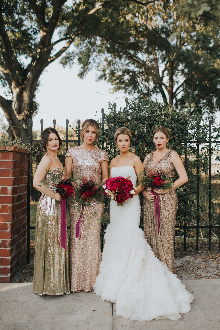 Loren and Alex Kuznetsov Gold and Burgundy wedding at Epicurean Tampa Royal Fall Wedding in Tampa Florida Inside Weddings MD Events Tampa-23.jpg