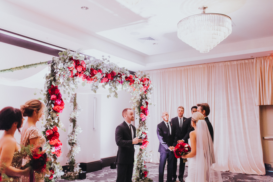 Loren and Alex Kuznetsov Gold and Burgundy wedding at Epicurean Tampa Royal Fall Wedding in Tampa Florida Inside Weddings MD Events Tampa-45.jpg