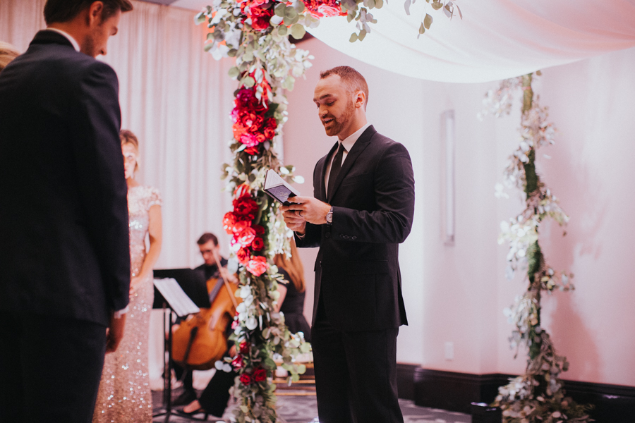 Loren and Alex Kuznetsov Gold and Burgundy wedding at Epicurean Tampa Royal Fall Wedding in Tampa Florida Inside Weddings MD Events Tampa-63.jpg