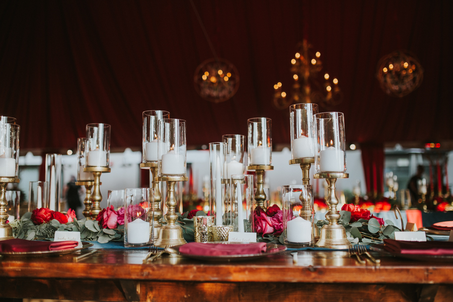 Loren and Alex Kuznetsov Gold and Burgundy wedding at Epicurean Tampa Royal Fall Wedding in Tampa Florida Inside Weddings MD Events Tampa-78.jpg