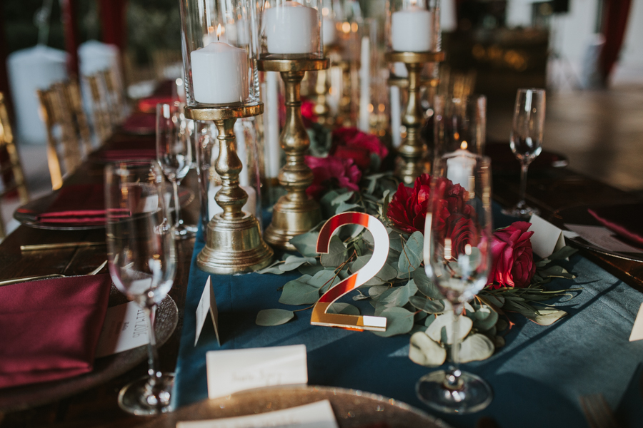 Loren and Alex Kuznetsov Gold and Burgundy wedding at Epicurean Tampa Royal Fall Wedding in Tampa Florida Inside Weddings MD Events Tampa-92.jpg